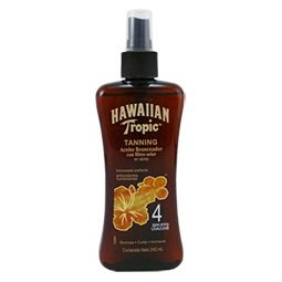 Hawaiian Tropic Aceite Bronceador Spf 4 X 240 Ml