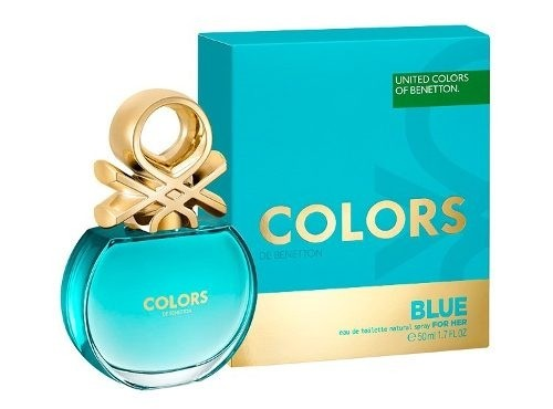 Perfume Benetton Colors Blue 50ml Nuevo!!