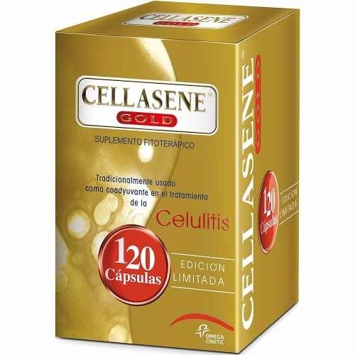 Cellasene Gold Tratamiento Anti Celulitis 120 Caps Oferta!!