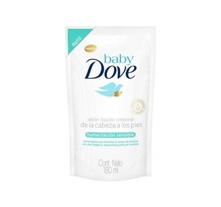 Dove Baby Jabon Liquido Humectacion Sensible  X 180ml