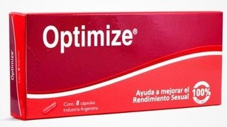 Nutriceutic Optimize 8 Caps Estimulante Sexual Masculino X2