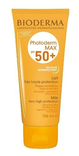 Bioderma Photoderm Max Lait Spf 50+ (protector Solar) 100ml