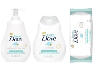 Dove Baby Combo Humectacion Sensible X  3 Productos
