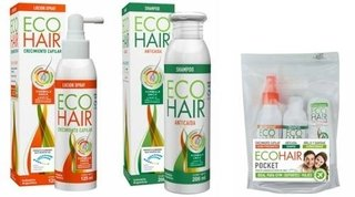 Eco Hair Combo Crecimiento Capilar + Gym Pocket Pack De Regalo