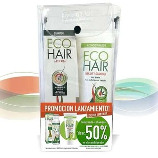 Oferta! Eco Hair Shampoo 200ml + Acondic. 200ml Al 50% Off