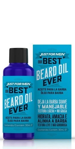 Just For Men Our Best Aceite Barba Suave Y Manejable 30ml