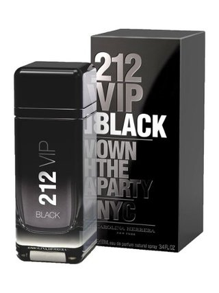Perfume Importado Carolina Herrera 212 Vip Black Men 100ml