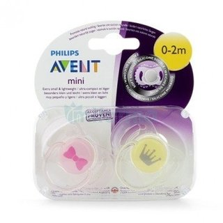 Avent Chupete Silicona Suave Pack X 2 Unidades