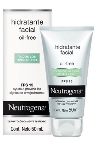 Neutrogena Oil Free Fps 15 Crema Hidratante X 50ml