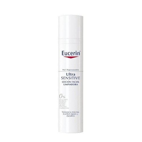 Eucerin Ultrasensible Locion Facial Limpiadora X 100ml