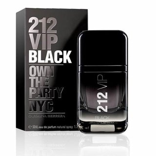 Perfume Importado Carolina Herrera 212 Vip Black Men 50ml