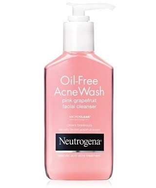 Neutrogena Gel De Limpieza Facial Oil Free Pomelo X 177ml