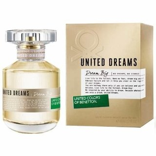 Perfume Mujer United Dreams Benetton Dream Big X 80ml
