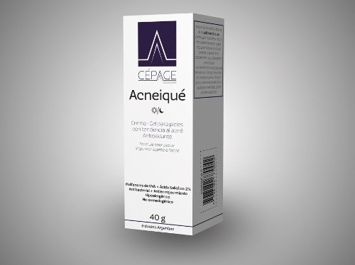 Cepage Acneique Crema-gel Antioxidante Pieles Acne 40ml