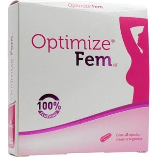 Optimize Fem Nutriceutic Estimulante Sexual Femenino X 8 Cap