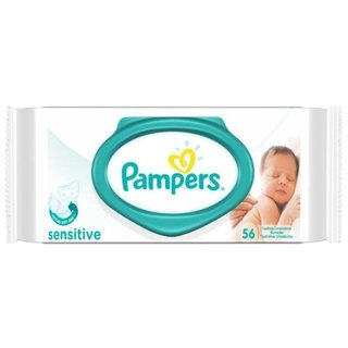 Pampers Toallitas Humedas Sensitive X 56 Unidades