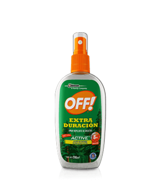 Repelente De Mosquitos Off Spray Extra Duracion