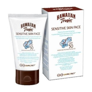 Hawaiian Tropic Sensitive Skin Facial 50spf X 60ml