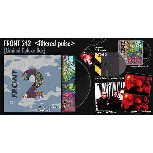 FRONT 242 - FILTERED > PULSE (BOX) - comprar online