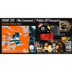 FRONT 242 - NO COMMENT / POLITICS OF PRESSURE (BOX)