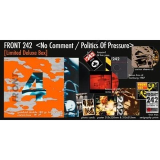 FRONT 242 - NO COMMENT / POLITICS OF PRESSURE (BOX) - comprar online