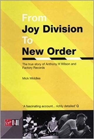 LIVRO - FROM JOY DIVISION TO NEW ORDER (LIVRO)