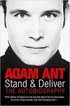 ADAM ANT Stand and Deliver: The Autobiography (LIVRO)