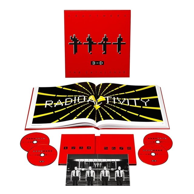KRAFTWERK - 3-D THE CATALOGUE BLU-RAY (BOX SET)