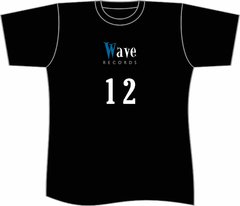 CAMISETA 12 ANOS WAVE RECORDS GIRLIE (CAMISETA)