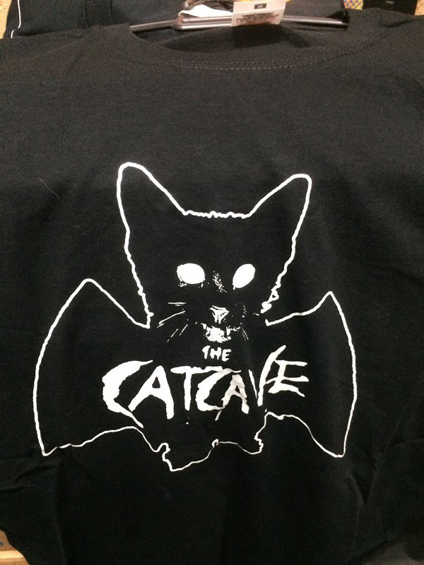 THE CATCAVE (CAMISETA)