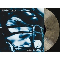 FRONT 242 - NO COMMENT / POLITCS OF PRESSURE (VINIL CLEAR/BLACK)