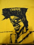 THE CRAMPS - CAVEIRA (CAMISETA)
