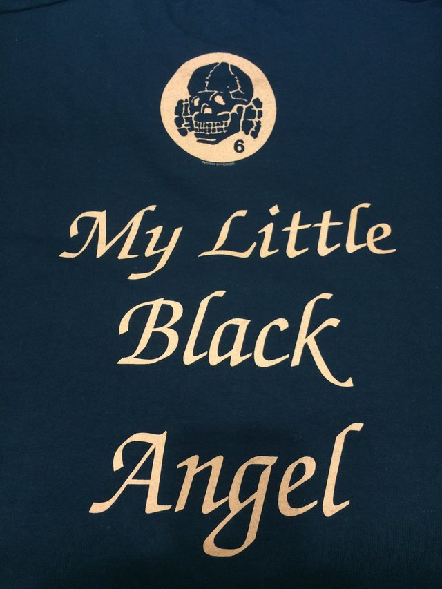 DEATH IN JUNE - MY LITTLE BLACK ANGEL (T-SHIRT) - comprar online