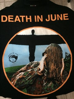 DEATH IN JUNE - MY LITTLE BLACK ANGEL (T-SHIRT)