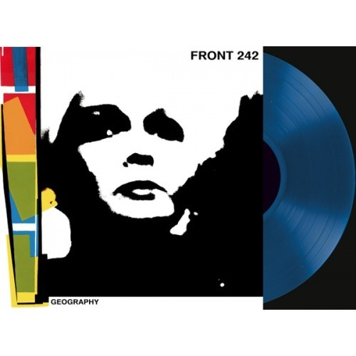 FRONT 242 - GEOGRAPHY (VINIL BLUE + CD)
