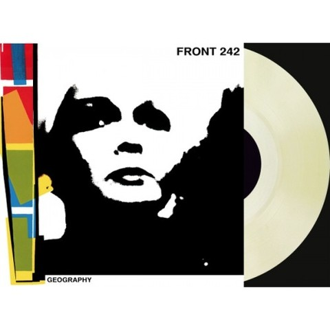 FRONT 242 - GEOGRAPHY (VINIL CLEAR + CD)