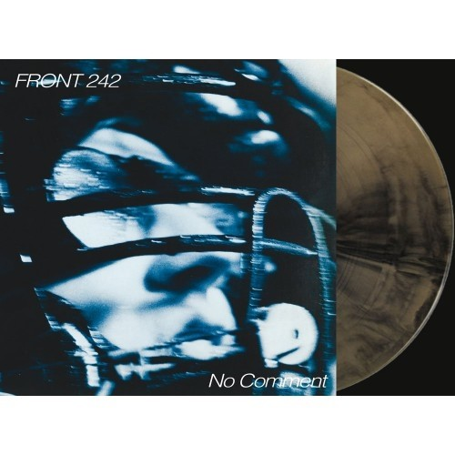 FRONT 242 - NO COMMENT / POLITCS OF PRESSURE (VINIL GOLD/BLACK) - comprar online