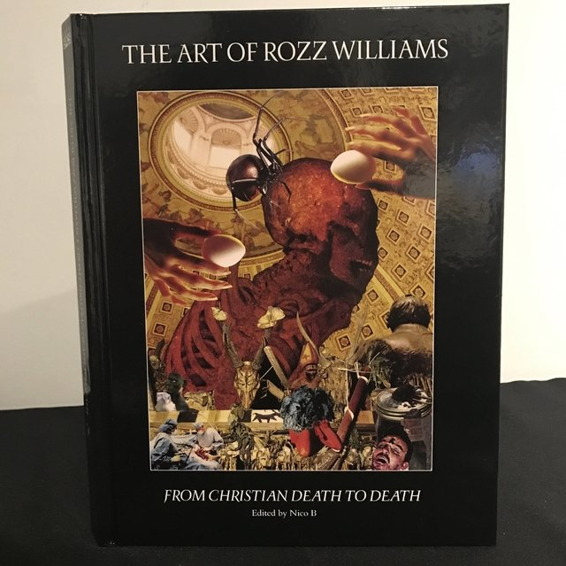 The Art of ROZZ WILLIAMS (book hardcover)