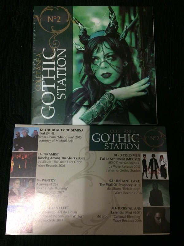 REVISTA GOTHIC STATION - NÚMERO 2 - BRASIL 2017 (REVISTA + CD) na internet