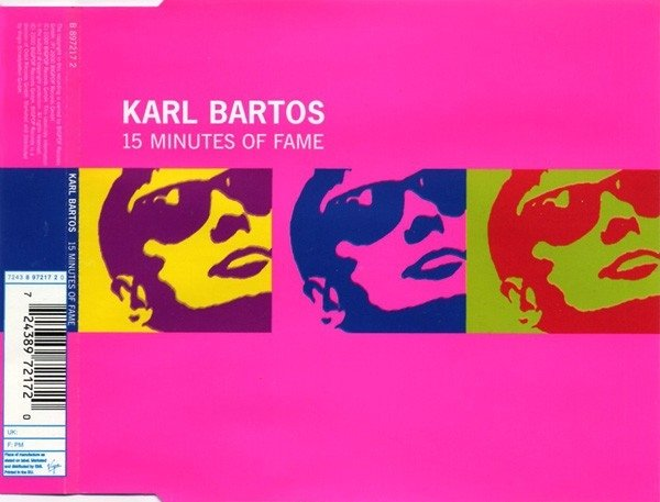 Karl Bartos - 15 minutes of fame (cd single)