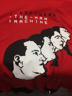 KRAFTWERK - THE MAN MACHINE (CAMISETA)