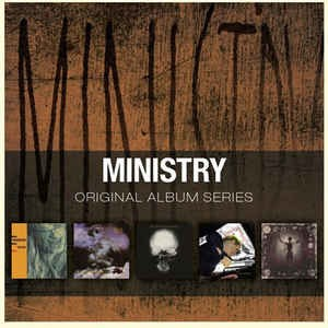 MINISTRY - ORIGINAL ALBUM SERIES (BOX)