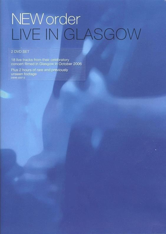 New Order - Live in Glasgow (dvd)