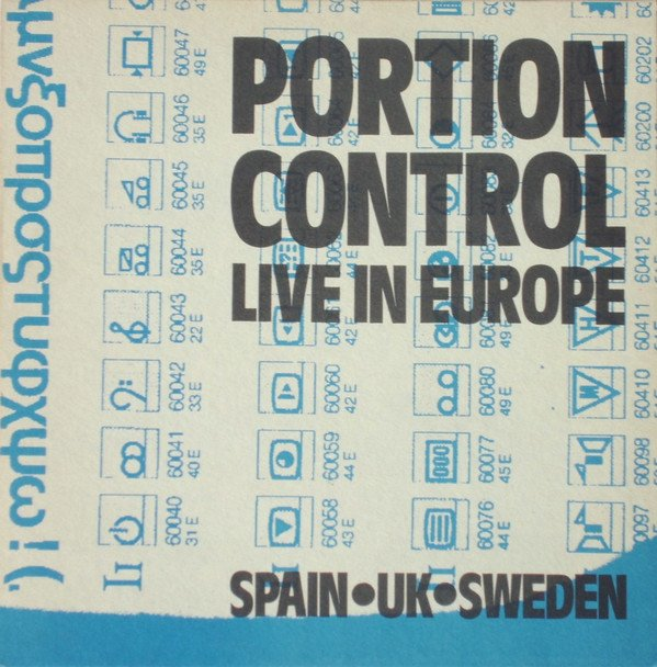 PORTION CONTROL - LIVE IN EUROPE (10
