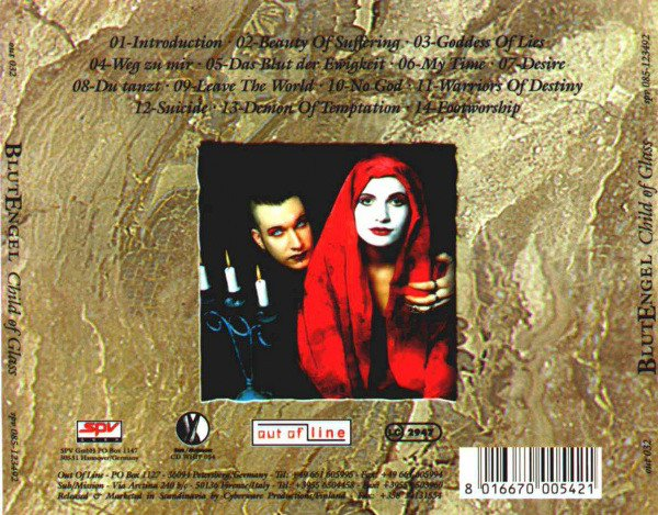 BLUTENGEL - CHILD OF GLASS (CD) - comprar online