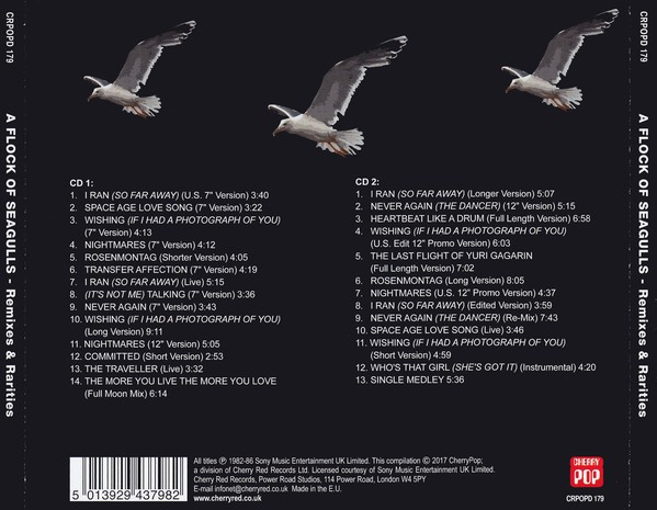 A Flock Of Seagulls ?- Remixes & Rarities (CD DUPLO) - comprar online