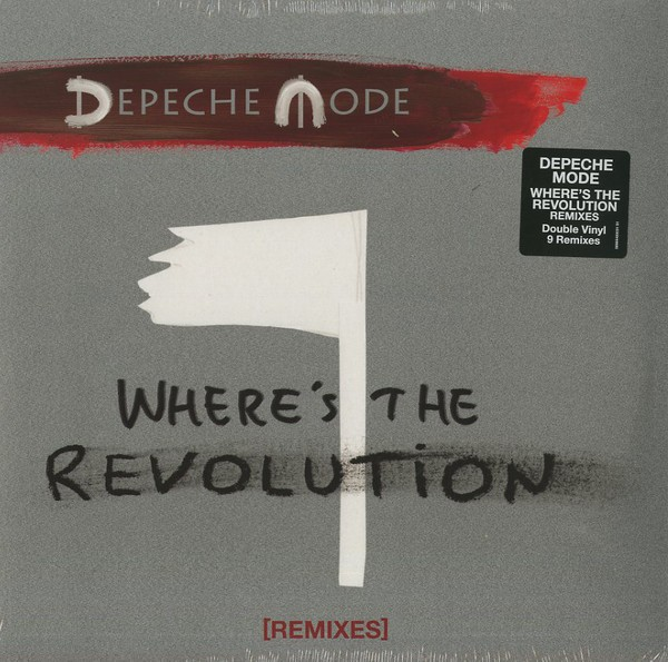 DEPECHE MODE - WHERE´S THE REVOLUTION (VINIL DUPLO)