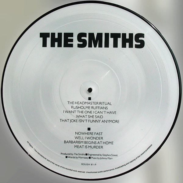 SMITHS, THE - MEAT IS MURDER (VINIL PICTURE) - comprar online