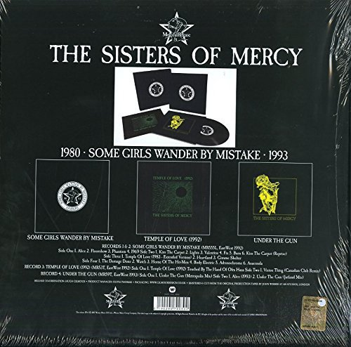 THE SISTERS OF MERCY - SOME GIRLS WANDER BY MISTAKE (BOX) na internet