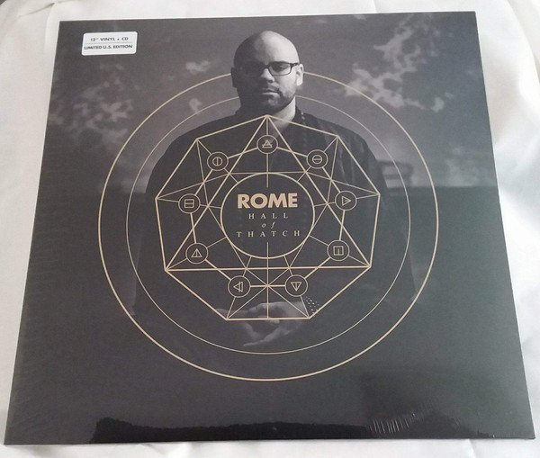 Rome  ‎– Hall Of Thatch (VINIL + CD)
